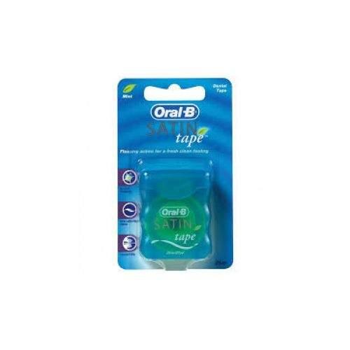 Braun Oral-B dentální páska satin tape mint 25 m