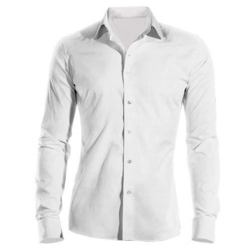 SmartMen Česká republika bílá košile dlouhý rukáv