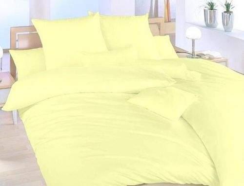 Brotex Světle žluté bvlněné povlečení
