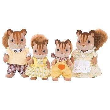 Sylvanian Families Rodina hnědých veverek