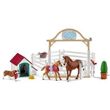 Schleich Hostující koně, Hannah s fenkou Ruby