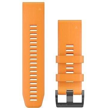 Garmin QuickFit 26 silikonový oranžový