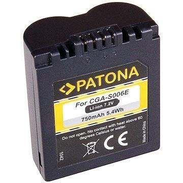 PATONA pro Panasonic CGA-S006E 750mAh Li-Ion