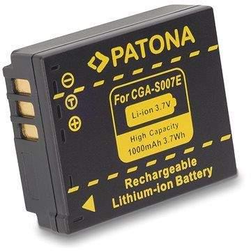 PATONA pro Panasonic S007E Li-Ion 1000mAh Li-Ion