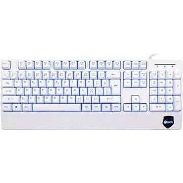 C-TECH KB-104W bílá