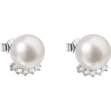 EVOLUTION GROUP 21020.1 bílá AAA 8-9mm náušnice pravá perle (925/1000, 2 g)