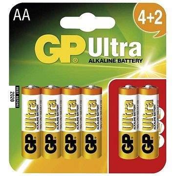 GP Ultra LR06 (AA) 4+2ks v blistru