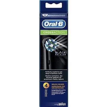 ORAL B Oral-B náhradní hlavice EB50 CrossAction Black 4ks
