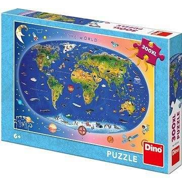 DINO Dětská mapa