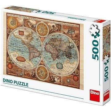 DINO Mapa světa z r.1626