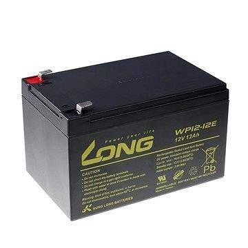 Long 12V 12Ah olověný akumulátor DeepCycle AGM F2 (WP12-12E)