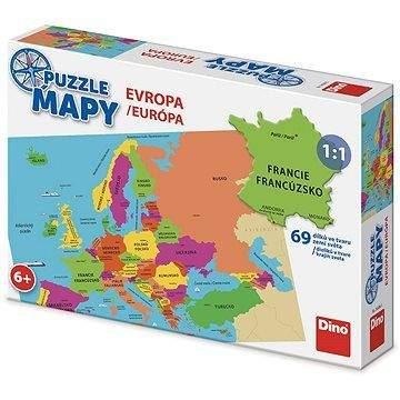 DINO Mapa Evropy