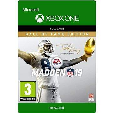 ELECTRONIC ARTS Madden NFL 19: Hall of Fame Edition - Xbox One DIGITAL