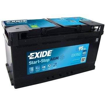 EXIDE START-STOP AGM 95Ah, 12V, EK950