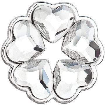 EVOLUTION GROUP 34234.1 krystalový přívěsek dekorovaný krystaly Swarovski® ( 925/1000, 0,9 g)