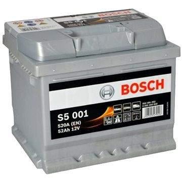 BOSCH S5 001, 52Ah, 12V (0 092 S50 010)