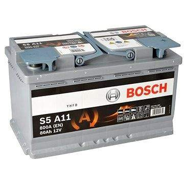 BOSCH S5A 110, 80Ah, 12V, AGM (0 092 S5A 110)