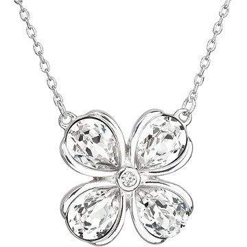 EVOLUTION GROUP 32066.1 krystalový náhrdelník dekorovaný krystaly Swarovski® ( 925/1000, 4,1 g)