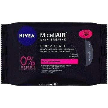 NIVEA MicellAIR Expert Remover Wipes 20 ks