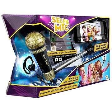 Worlds Apart Selfie mikrofon černý