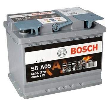 BOSCH S5A 050, 60Ah, 12V, AGM (0 092 S5A 050)