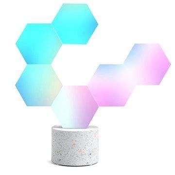 MiPow Cololight Modulární chytré Wi-Fi osvětlení – kamenná základna se 6 bloky
