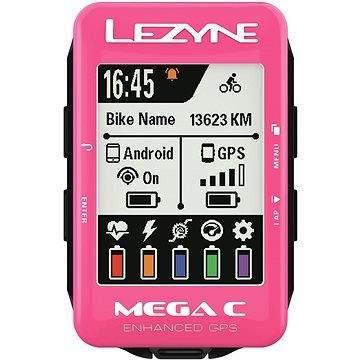Lezyne Mega C GPS Pink
