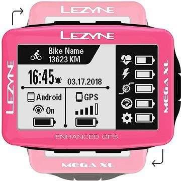 Lezyne Mega XL GPS Pink