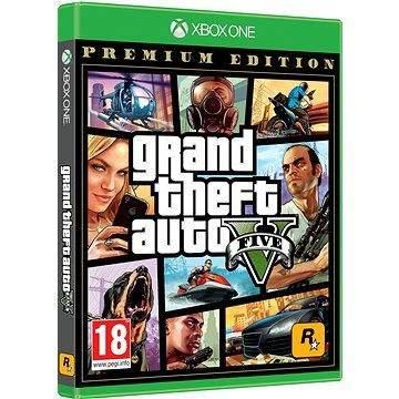 ROCKSTAR GAMES Grand Theft Auto V Premium Edition - Xbox One