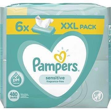 PAMPERS Sensitive XXL 6× 80 ks