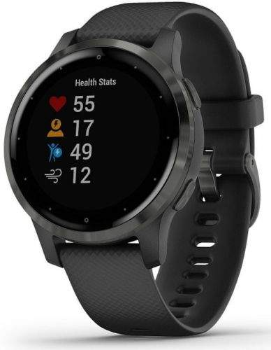 GPS hodinky Garmin vívoactive4S Gray/Black (010-02172-13)