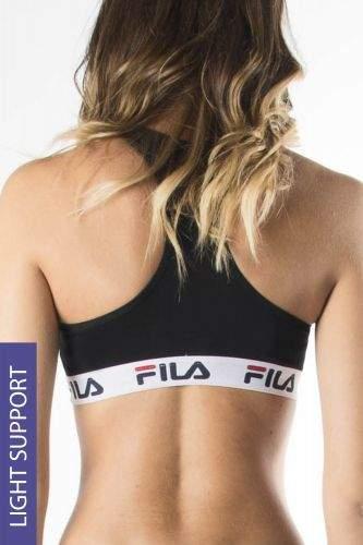 Fila Sportovní podprsenka Fila Underwear Black černá L