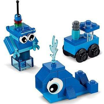 LEGO Classic Modré kreativní kostičky 11006
