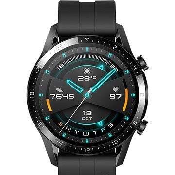 Huawei Watch GT 2 46 mm Black Fluoroelastomer Strap