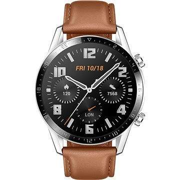 Huawei Watch GT 2 46 mm Brown Leather Strap