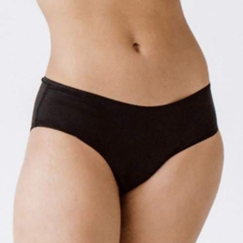 snuggswear Menstruační kalhotky Snuggs pro slabou a střední menstruaci černá XS