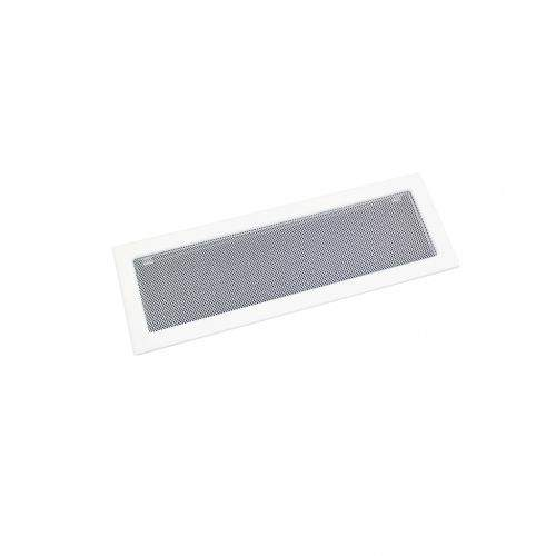 HACO Lakovaná krbová mřížka s rámečkem a síťovinou 170x490 bílá HC0717 HC0717