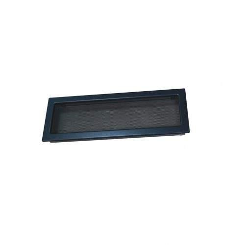 HACO Lakovaná krbová mřížka s rámečkem a síťovinou 170x490 grafit HC0721 HC0721