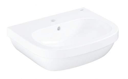 GROHE Euro Ceramic Umyvadlo s přepadem, 550x450 mm, alpská bílá 39336000