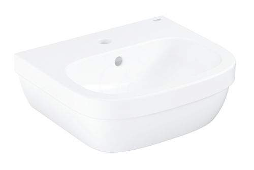 GROHE Euro Ceramic Umývátko s přepadem, 450x400 mm, PureGuard, alpská bílá 3932400H