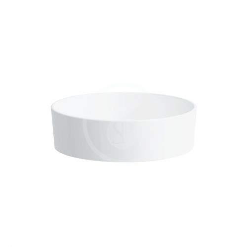 Laufen Kartell Umyvadlová mísa, průměr 420 mm, SaphirKeramik, bílá H8123310001121