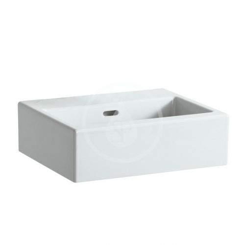 Laufen Living Umývátko 450x380 mm, bez otvoru pro baterii, bílá H8154320001091