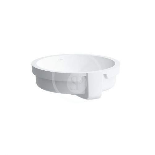 Laufen Living Vestavné umyvadlo, průměr 450 mm, bílá H8134390001091