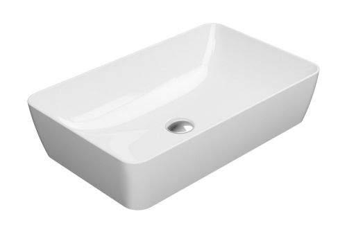 GSI SAND umyvadlo na desku 60x38 cm, bílá ExtraGlaze 903611