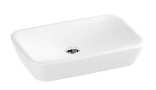 RAVAK Ceramic Umyvadlo na desku, 600x400 mm, bílá XJX01160002