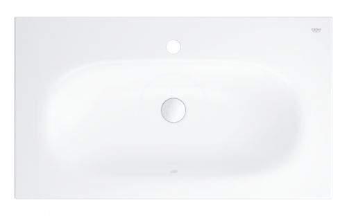 GROHE Essence Umyvadlo s přepadem 800x460 mm, PureGuard, alpská bílá 3956700H