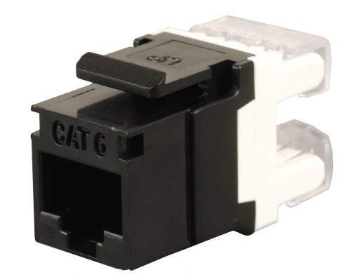 Keystone Solarix CAT6 UTP RJ45 černý