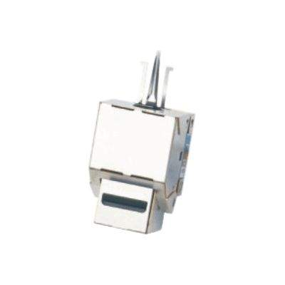 DATACOM Keystone CAT6 STP silver dual-mini