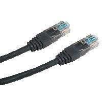 DATACOM Patch cord UTP cat5e 7M černý