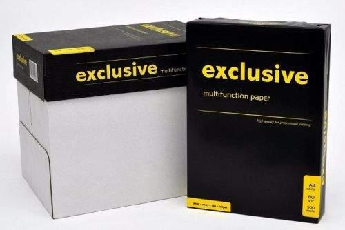 Papermax Kancelářský papír Exclusive A KVALITA - A4, 80g, bílý, 500 listů - CERTIFIKÁT BĚLOSTI